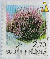 Common Heather, Suomi, Finland, stamp, plant, flower, 2.70, Calluna vulgaris