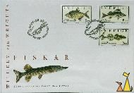Fiskar, Sverige, Sweden, stamp, fishm Förstadagsbrev, First Day Cover, Posten, Sundsvall, Willhelm von Wrights, 2001-08-16, Fiskar